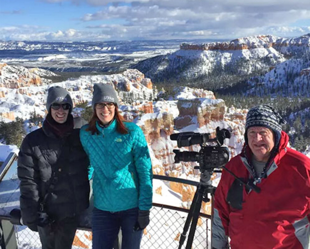 Bryce Canyon snow-covered