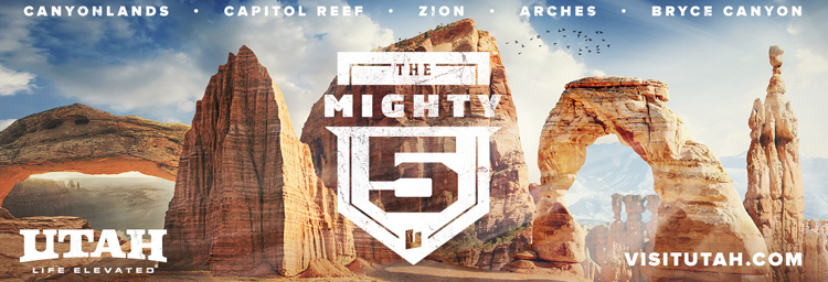 mighty 5174 campaign utah office of tourism industry website